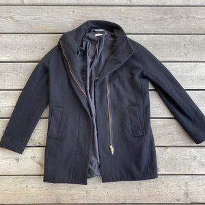 J.Crew Simple & Sleek Wool Coat